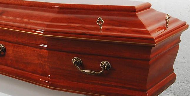 dark casket